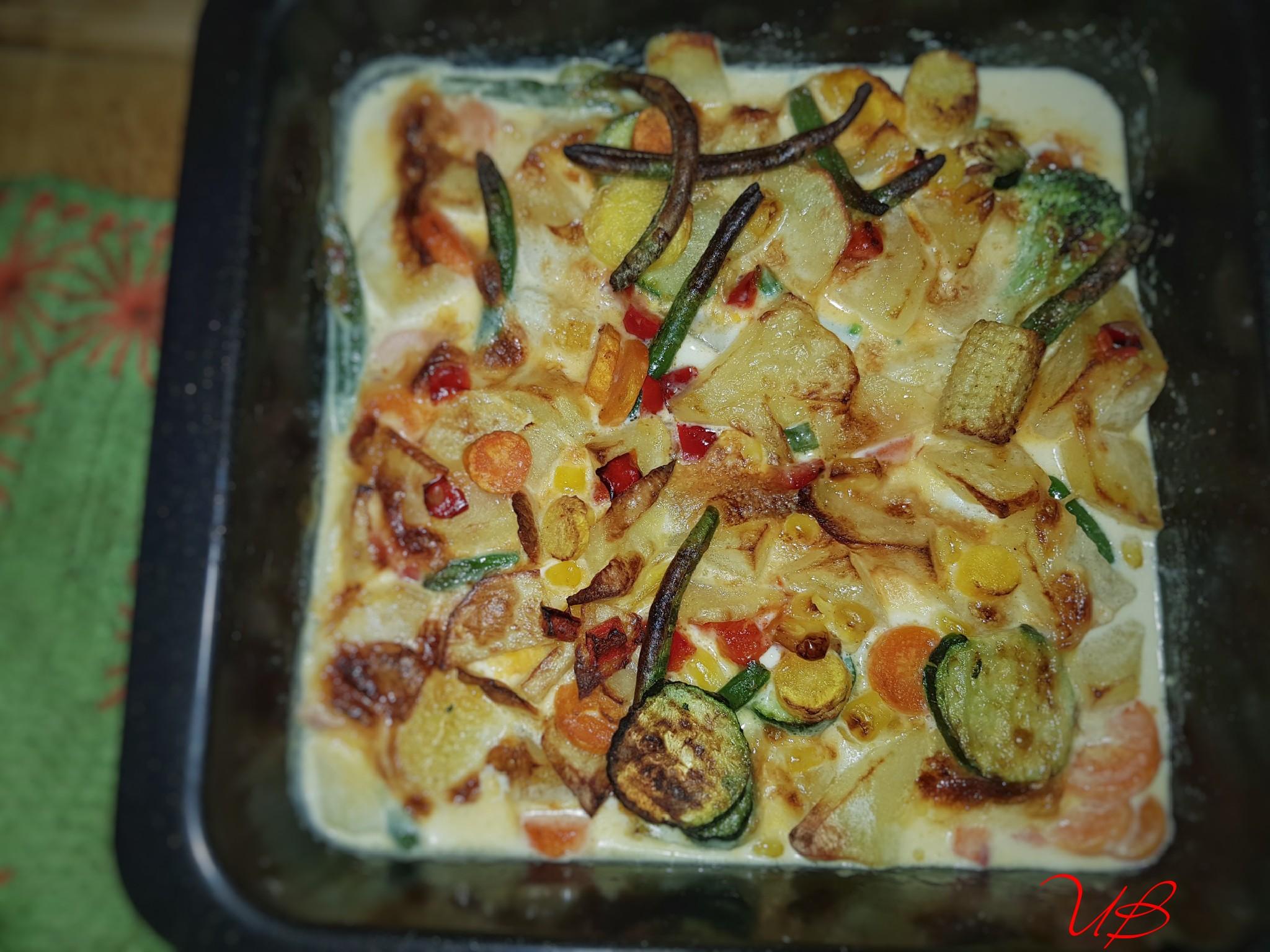 Gemüse-kartoffelpfännchen