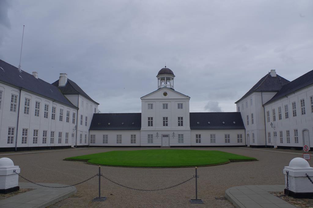 Schloss von vorne